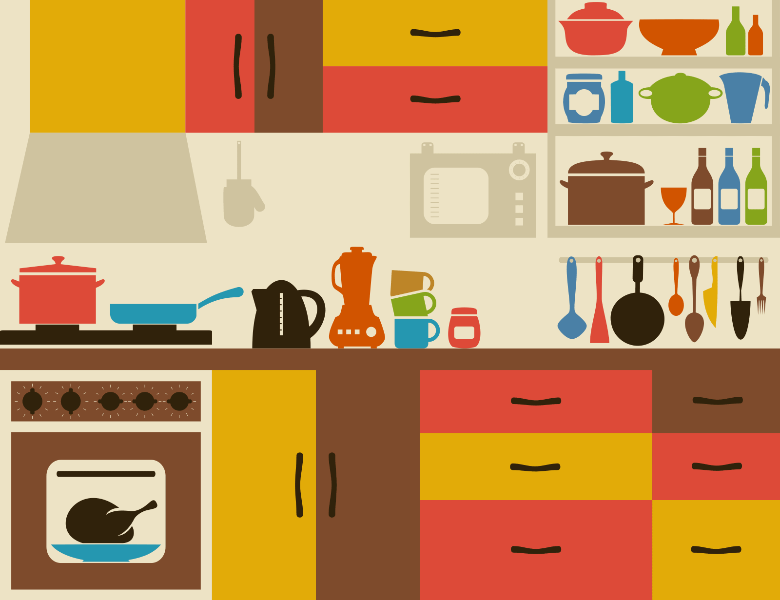 How To Get Your Kitchen Back-to-School Ready - KptnCook Blog